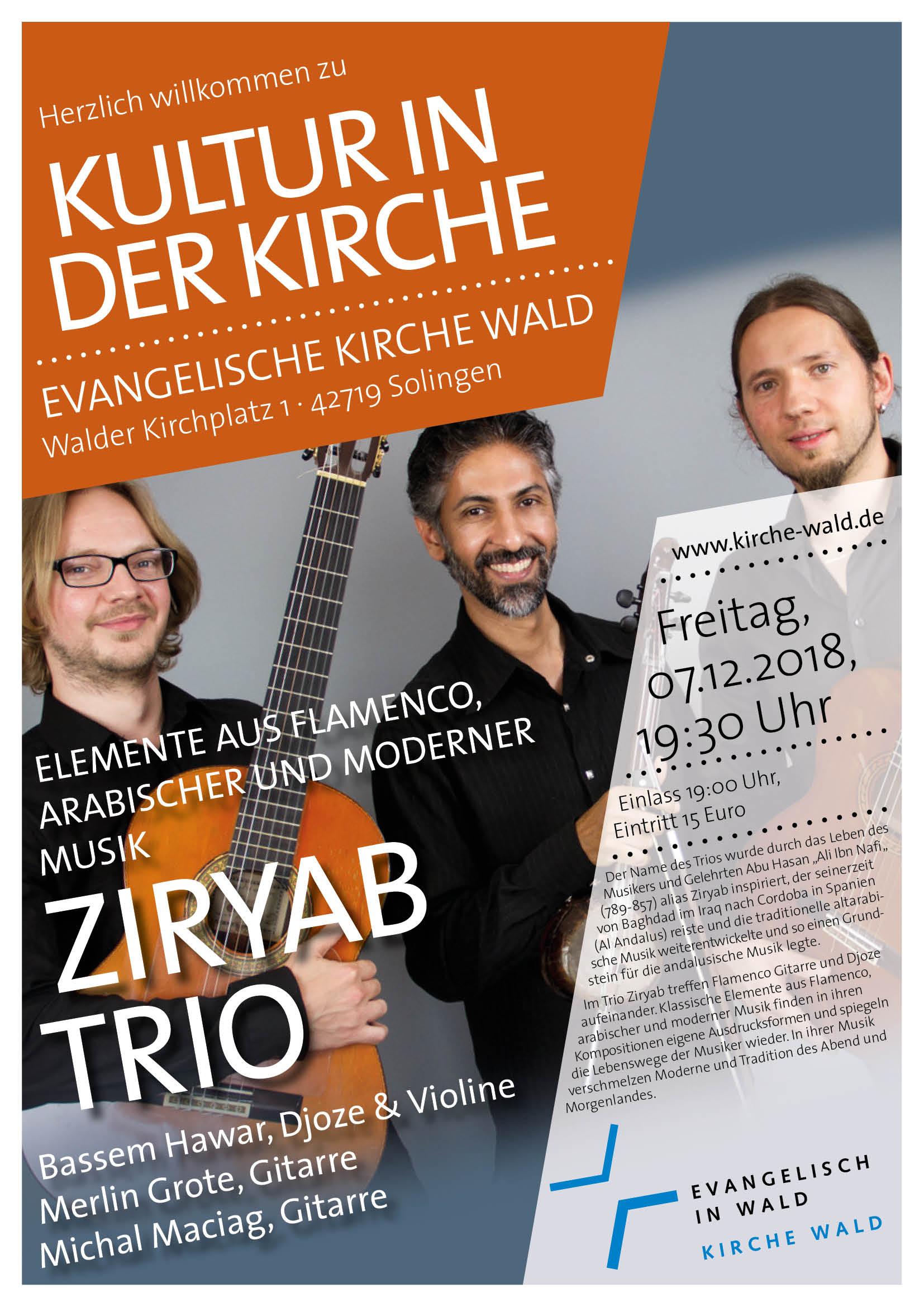 Ziryab Konzert Walder Kirche