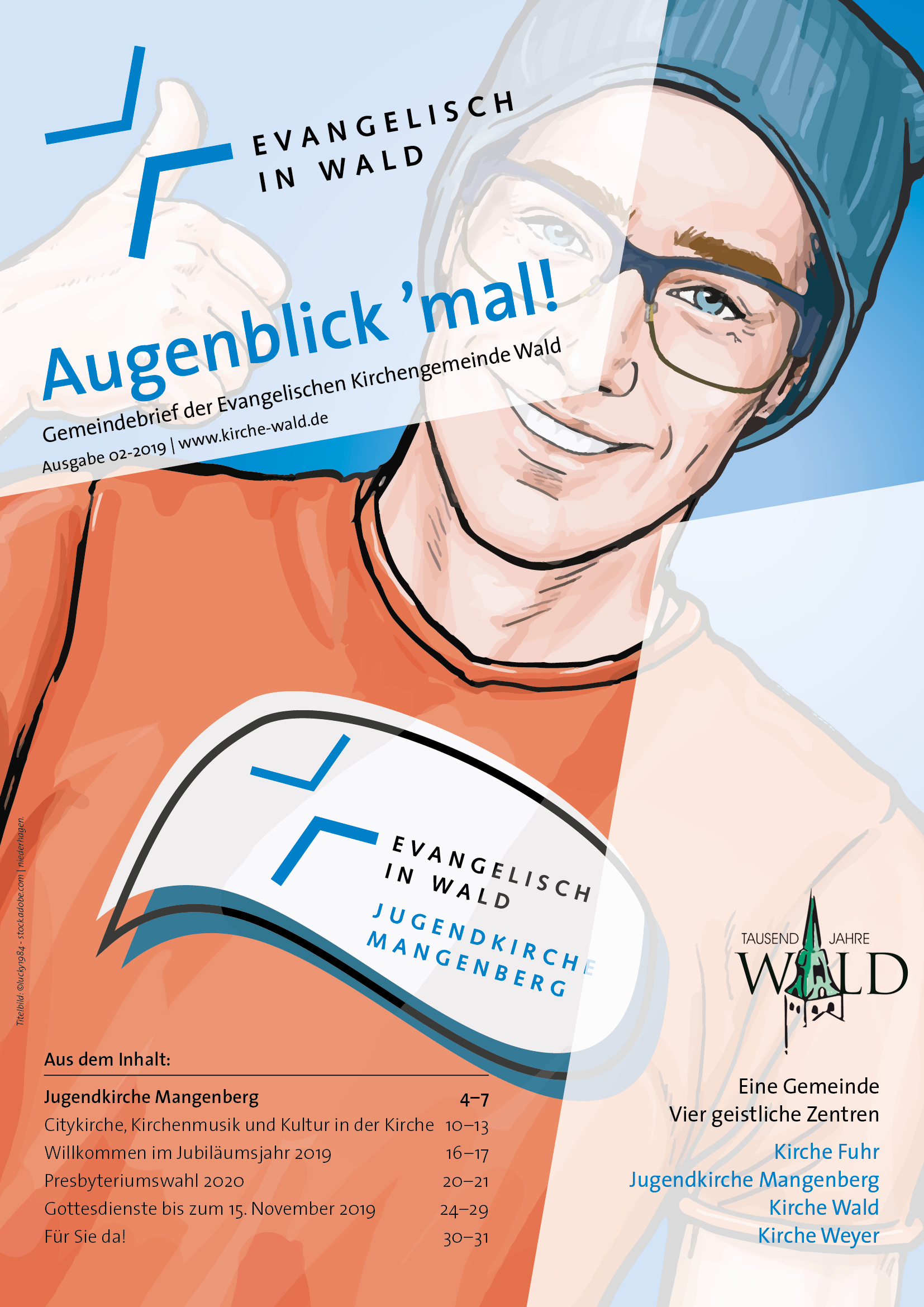 Gemeindebrief der Evangelischen Kirchengemeinde Wald