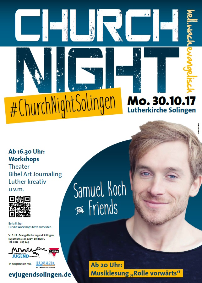 churchnight 2017 Solingen