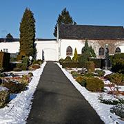Der evangelische Friedhof an der Wiedenkamper Straße. © Daniela Tobias / photozeichen.de