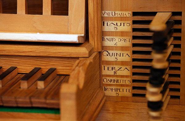 Orgel in der Walder Kirche