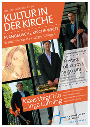 Konzert des Klaas Voigt Trio