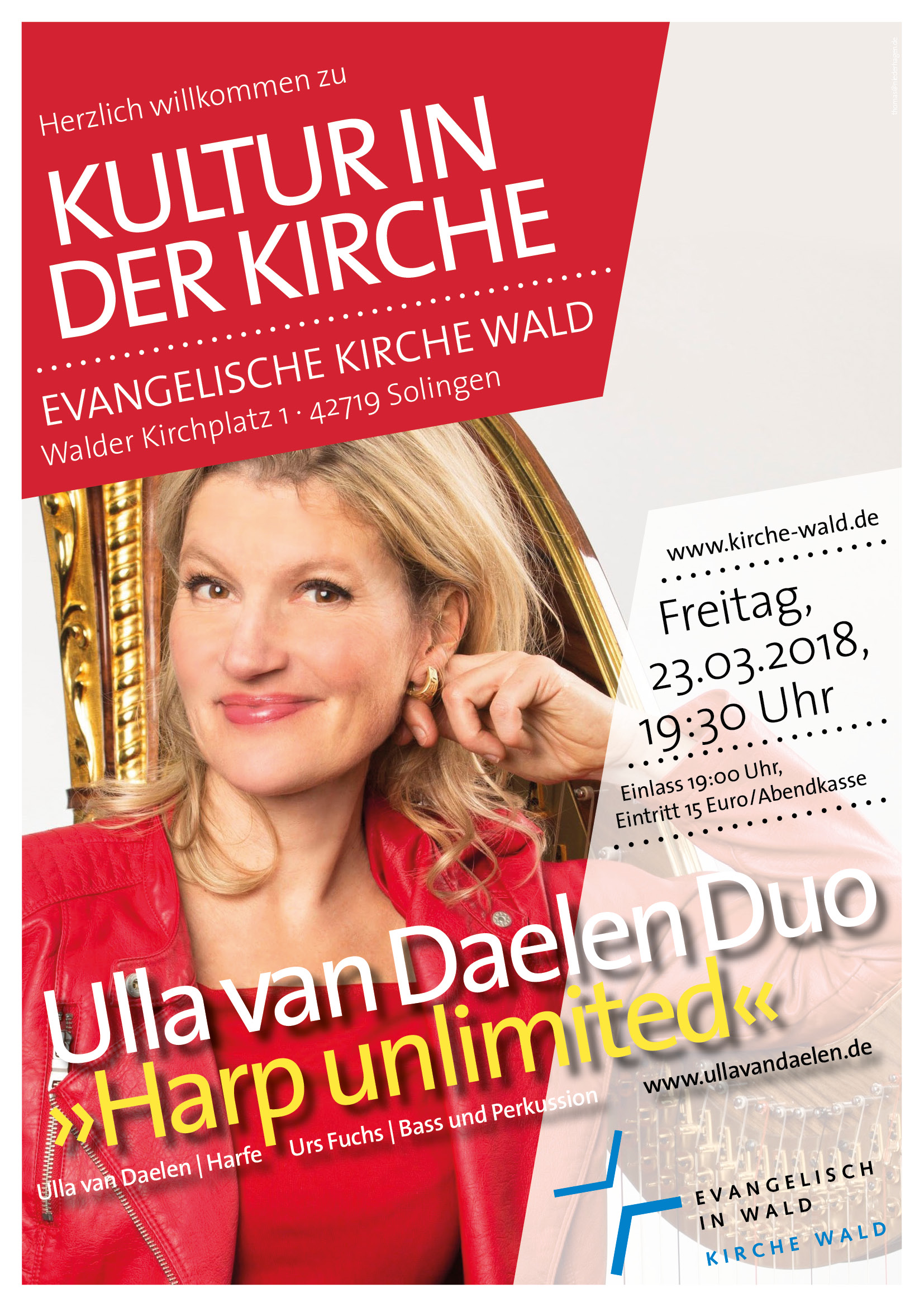 Ulla van Daelen Duo - Harp unlimited