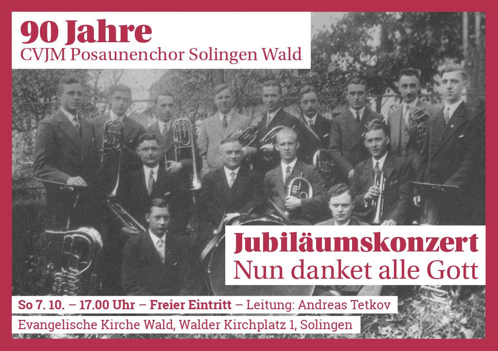 90 Jahre Posaunenchor Solingen Wald